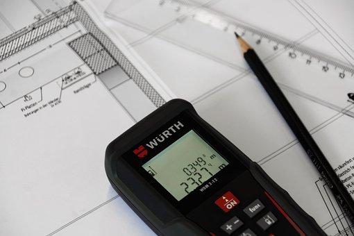 Gauge, Measure, Laser, Rangefinder, Meter, Distance
