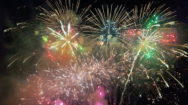 Fireworks, Pyrotechnics, Fireworks Rocket, Rocket