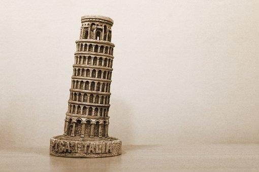 Tower, Tower Of Pisa, Europe, Tourism, Pisa, Italy