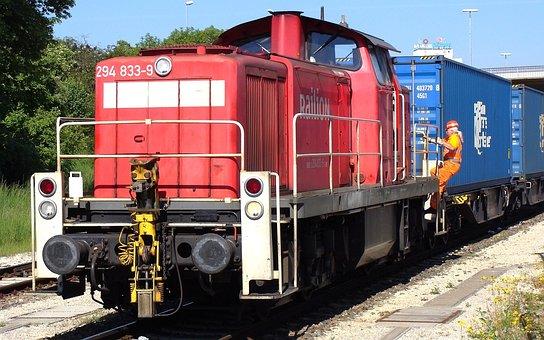 Br 294, Giengen, Brenz Railway, Kbs 757, Railway, Train