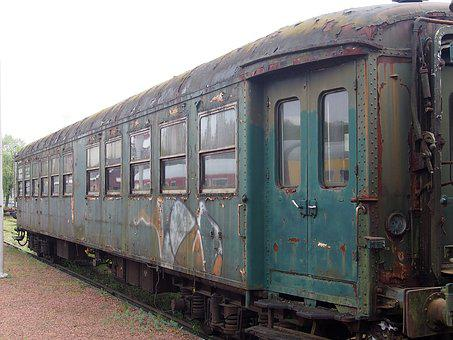 Wagon, Train, Transport, Trains, Coal, Leave, Old