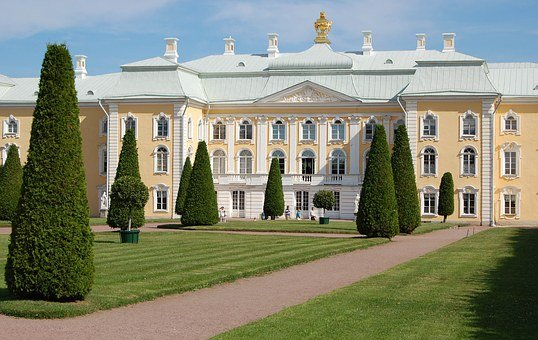 Peterhof Palace, Antiques, Architecture, Art, Large