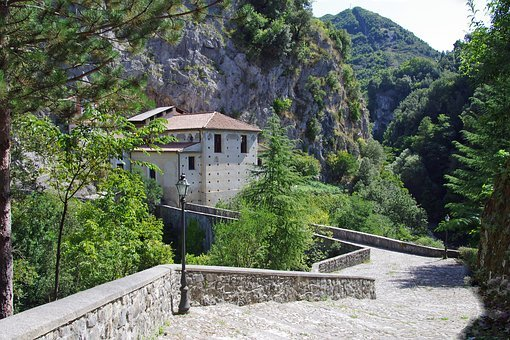Papasidero, Calabria, Hermitage, Church, Mountain