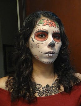 Skull, Day Of The Dead, Mexico, Death, Calaca, Women