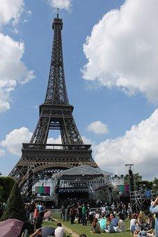 Eiffel Tower, Paris, Eiffel, Monument, Capital