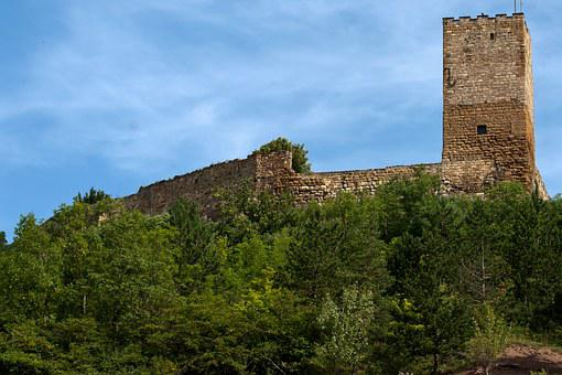 Castle, Thuringia Germany, Thuringian Forest