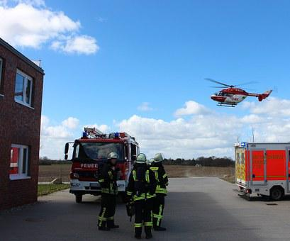 Fire, Emergency Medical Services, Fire Truck