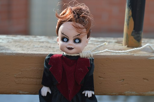 Vampire, Day Of The Dead, Doll, Eyes, Face, Demon, Evil