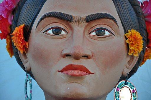 Frida, Dia De Los Muertos, Day Of The Dead, November