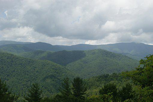 Mountains, Great Smoky Mountains, Green, Smoky, Great