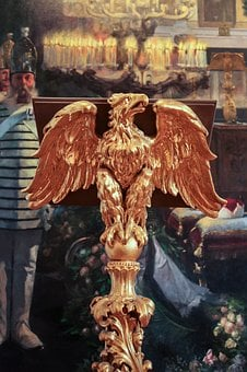 Golden Eagle, Podium, Russian, Historic, Historical