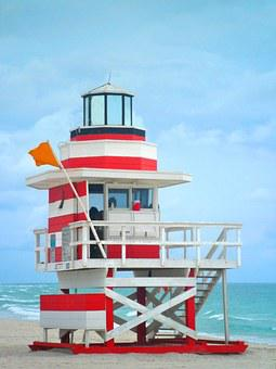 Lifeguard On Duty, House, Beach