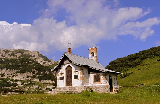 Church, Mountain, Prato, Scalorbi, Italy