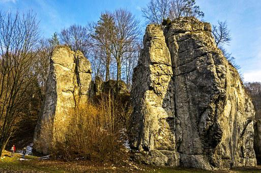 Poland, Malopolska, Valley Będkowska, Landscape