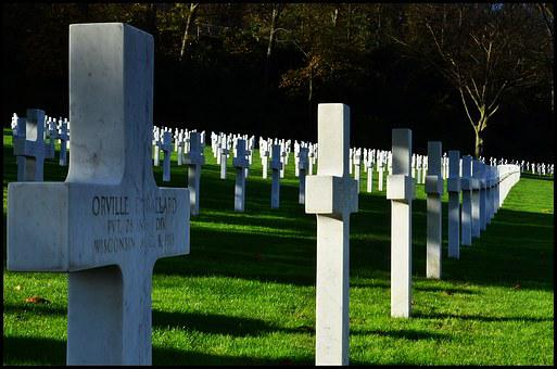 Graves, American, Cemetery, Memorial, War, Soldier