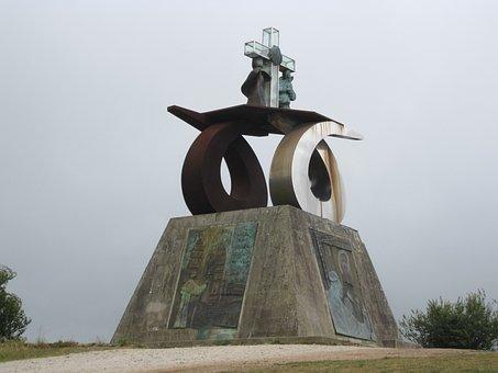Monument To John Paul Ii, Santiago Of Compostela