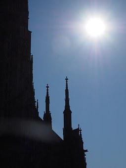 Ulm Cathedral, Solar Eclipse, Münster, Ulm, Building