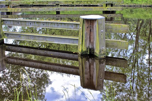 Water, River, Arbor, Bars, Landscape, Nature, Natural