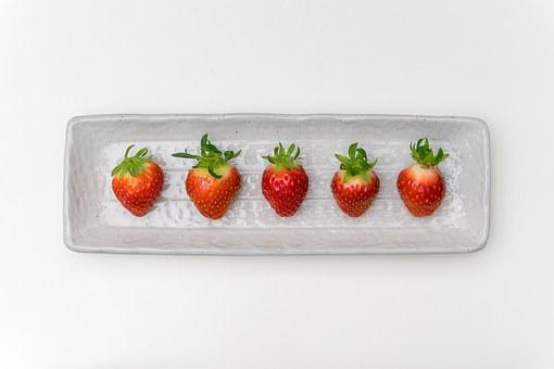 Strawberry, Fruit, Vegetables, Plants, Red, Sweet