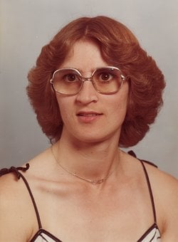 Portrait, Woman, Glasses, Face, Human, Head, Hair