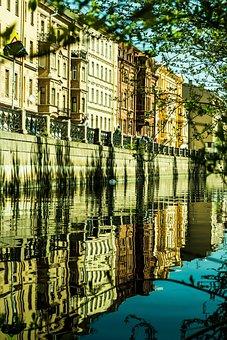 Peter, Russia, Saint Petersburg, River
