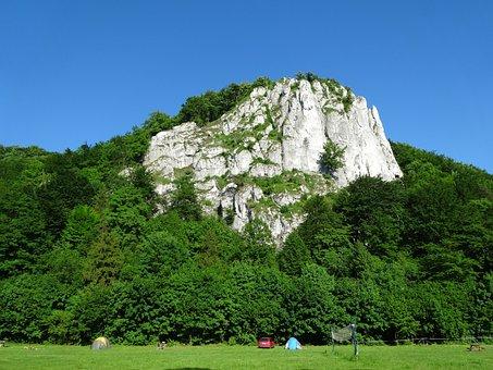 Rocks, Dolinka Będkowska, Landscape, Nature