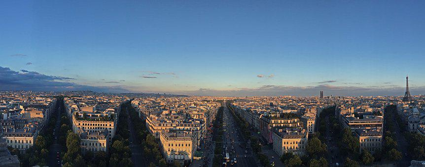 Paris, France, French, Europe, City, Architecture, Sky