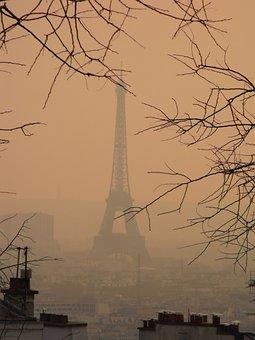 Paris, Smog, Eiffel Tower, Tourism, Tour