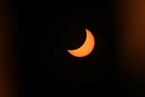Solar Eclipse, Sun, Blackout, Celestial Phenomenon