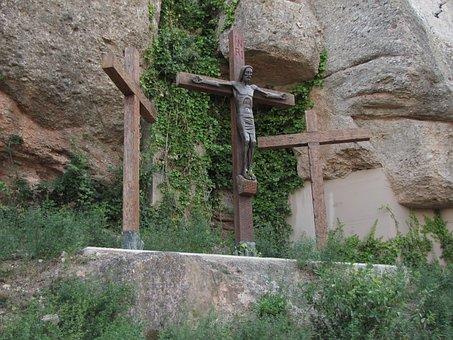 Mountain Montserrat, Spain, Mountains, Stones, Rock
