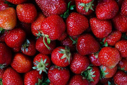 Strawberry, Berry, Plant, Strawberry Muscat, Red