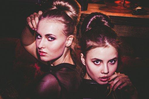 Girls, Model, Woman, Beauty, Fashion, Cosmetics, Style