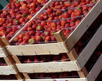 Strawberries, Fruit, Fruits, Sweet, Red, Food