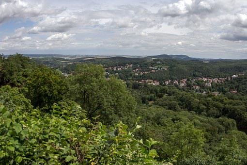 Thuringia Germany, Landscape, Thuringian Forest