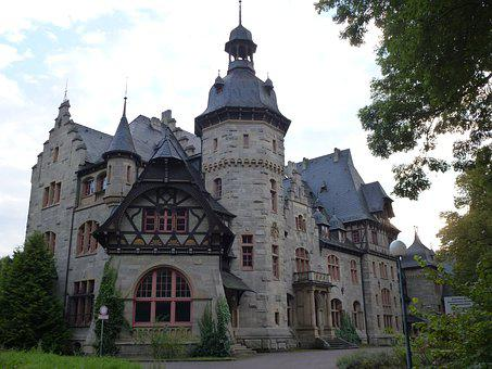 Thuringia Germany, Castle, Thuringian Forest