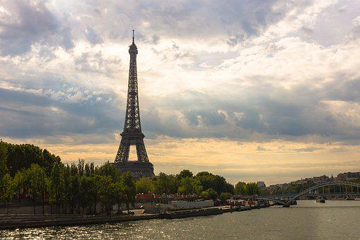 Eiffel Tower, Paris, France, Tower, Eiffel, Landmark