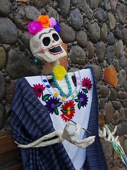 Day Of The Dead, Calaca, Tradition, Skull, November