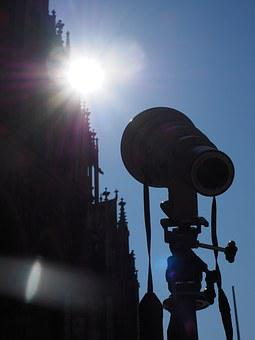 Camera, Lens, Telephoto Lens, Ulm Cathedral