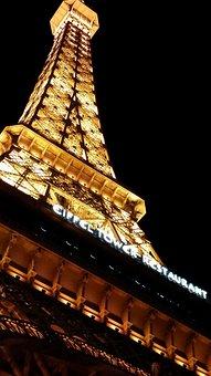 Hotel Paris, Hotel, Las Vegas, Vegas, Eiffel Tower