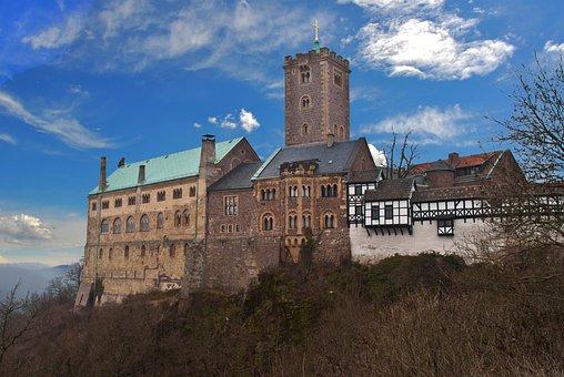 Castle, Wartburg Castle, Thuringia Germany