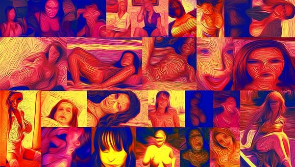 Woman, Collge, Body, Girl, The Framework, Frame, Colors