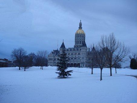 Hartford, Connecticut, Capitol, Bushnell Park, Landmark