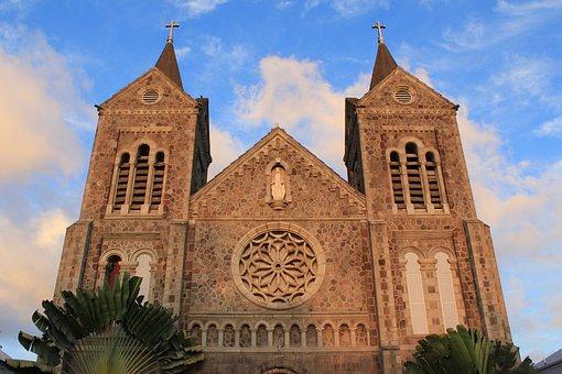 Church, Caribbean, Religion, Base Terre, Saint Kitts