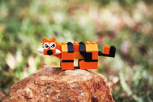 Tiger, Toy, Animal, Cute, Cat, Cartoon, Funny