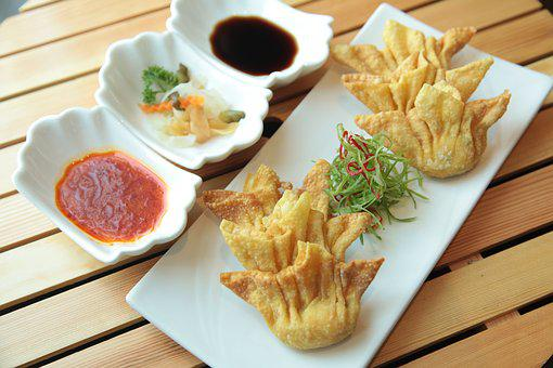 Asian Food, Dimsum, Cuisine, Chinese, Asian, Table