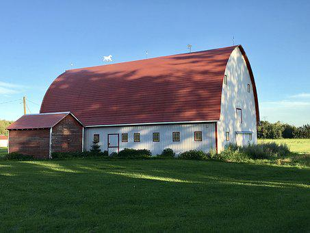 Alberta Barn, Farm, Rural, Barn, Country, Building