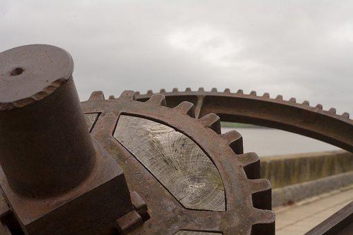 Cogs, Gearing, Industrial, Gear, Cogwheel, Mechanism