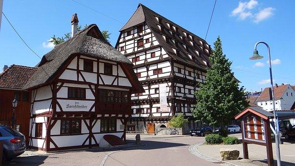 Geislingen, Grain Scribe House, Reed