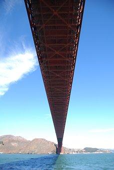 San Francisco, Bridge, Golden Gate, United States, Usa
