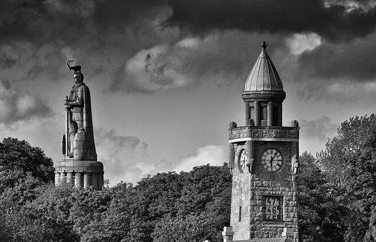 Hamburg, Tower, Hindenburg, Places Of Interest